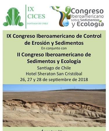 Congreso latinoamericano sobre sedimentos y ecología, invita UNESCO isi-lac, la Universidad de Santiago de Chile, AMH