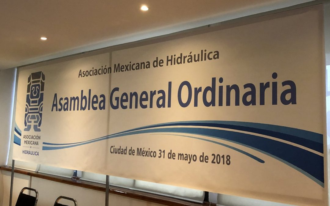 ASAMBLEA GENERAL ORDINARIA ASOCIACIÓN MEXICANA DE HIDRÁULICA AC