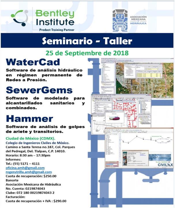 SEMINARIO  TALLER AMH -BENTLEY INSTITUTE